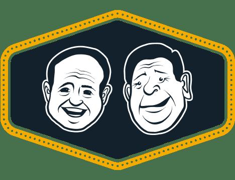 Mikey & Mel faces logo