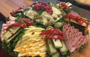 Deli Deluxe Platter from Mikey & Mel's Famous Deli